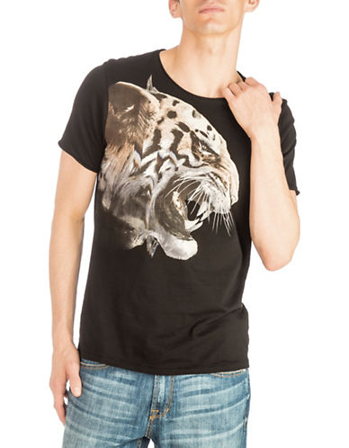 Guess Oversized Tiger T-Shirt-DARK GREY-Small 89955621_DARK GREY_Small