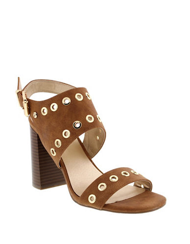 G By Guess Deluxe Ankle-Strap Sandals-BEIGE-8.5