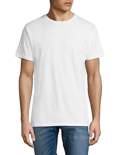 Karl Lagerfeld Basic Crew Neck Tee-WHITE-Medium 89866856_WHITE_Medium