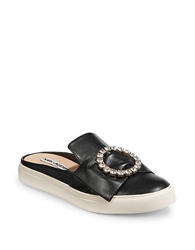KARL LAGERFELD PARIS Elle Bow Mule Sneakers