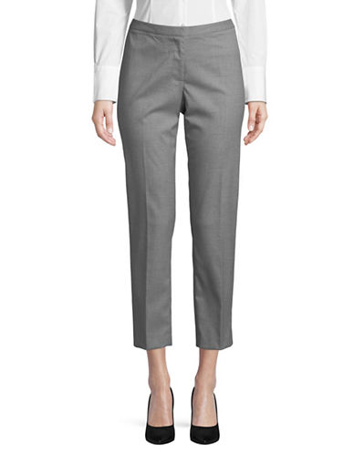Karl Lagerfeld Paris Classic Skinny Pants-GREY-14