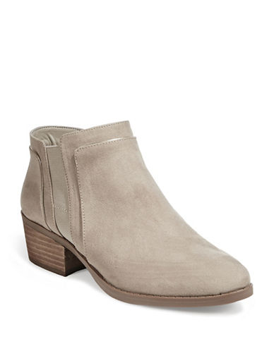 Karl Lagerfeld Paris Aimee2 Ankle Boots-TAUPE-8
