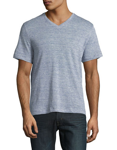 Michael Kors V-Neck Short-Sleeve T-Shirt-GREY-Small 89891928_GREY_Small