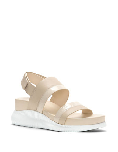 Cole Haan Leather Wedge Sandals 89926732