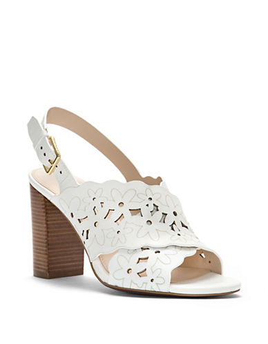 Cole Haan Indra Floral Leather Slingback Sandals 89926696