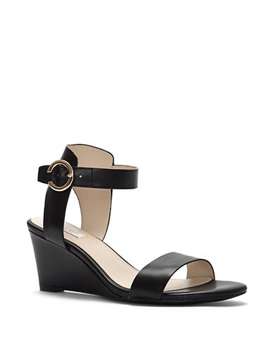 Cole Haan Rosalind Leather Wedge Sandals 89926673
