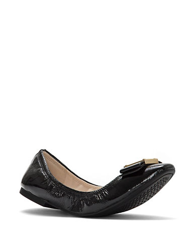 Cole Haan Tali Modern Bow Patent Leather Ballet Flats 90028789