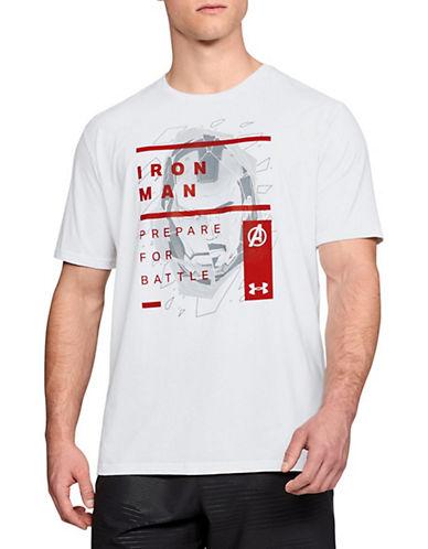 Under Armour Iron Man Cotton Tee-WHITE-Medium 90063083_WHITE_Medium