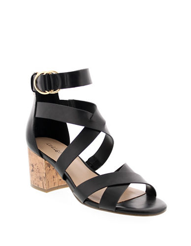 Indigo Rd Effie Ankle-Strap Sandals-BLACK-8.5