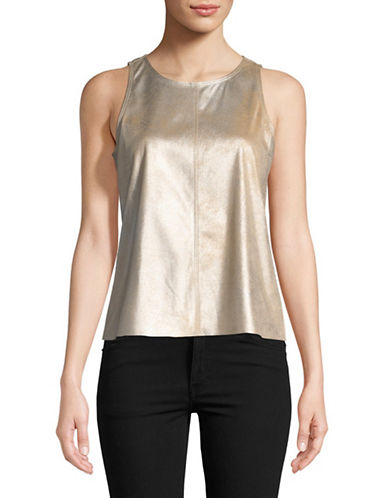 Highline Collective Metallic Sleeveless Top-FOIL-Medium