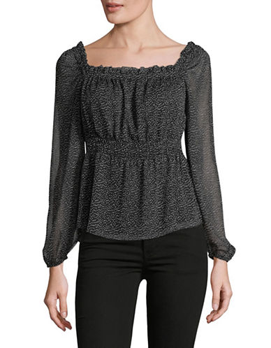Highline Collective Empire Off-the-Shoulder Top-BLACK-X-Small