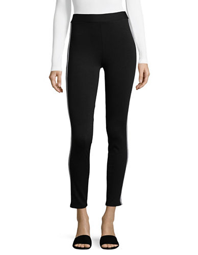 Highline Collective Side Stripe Leggings-BLACK-Large