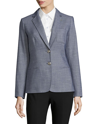 Tommy Hilfiger Two-Button Elbow Patch Blazer 90064852