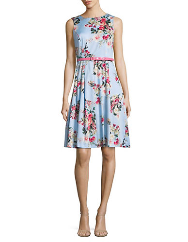 Floral Fit And Flare Dress by Tommy Hilfiger