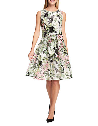 Tommy Hilfiger Lola Floral Sheer Ribbon Dress 89992684