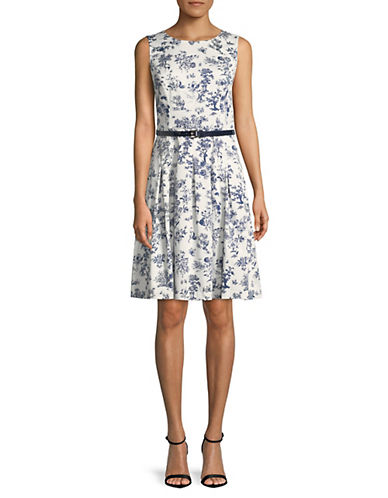 Toile De Jouey Printed Dress by Tommy Hilfiger