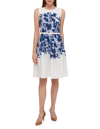 Hanging Garden Fit And Flare Dress by Tommy Hilfiger