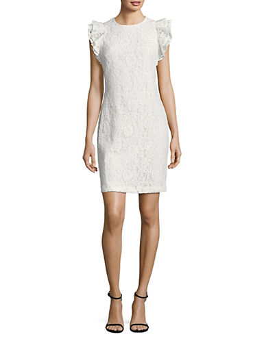 Tommy Hilfiger Flutter-Sleeve Sheath Dress 89851162