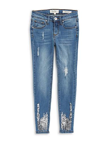 Jessica Simpson Intergalactic Kiss Me Sequin Jeans 90166584