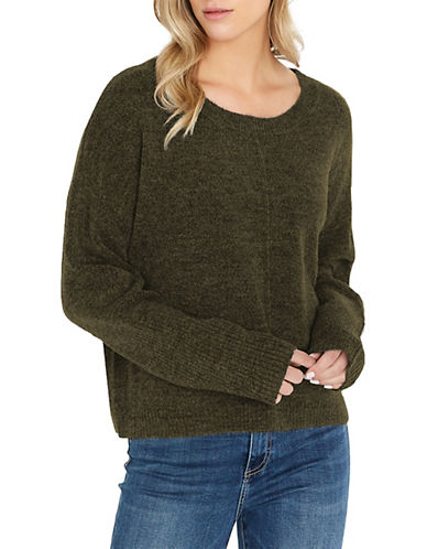 Buffalo David Bitton High/Low Extreme Roundneck Sweater