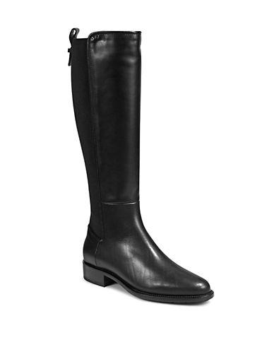 Nastia Leather Tall Boots by Aquatalia