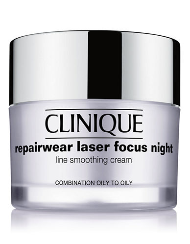 Clinique Repairwear Laser Focus Night Line Smoothing Cream - Combination Oily to Oily-NO COLOUR-50 ml