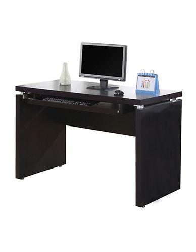 Monarch Keyboard Shelf Computer Desk-BROWN-One Size