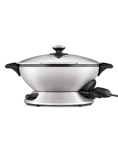 Breville The Hot Wok Pro-STAINLESS STEEL-One Size