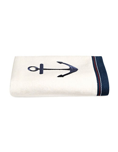 Avanti Anchor Bath Towel-NAVY-Bath Towel