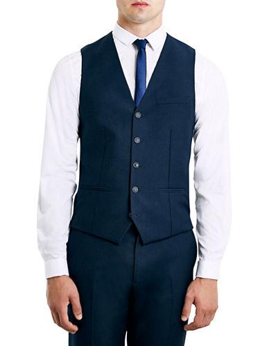 Topman New Suit Waistcoat-KHAKI/OLIVE-36