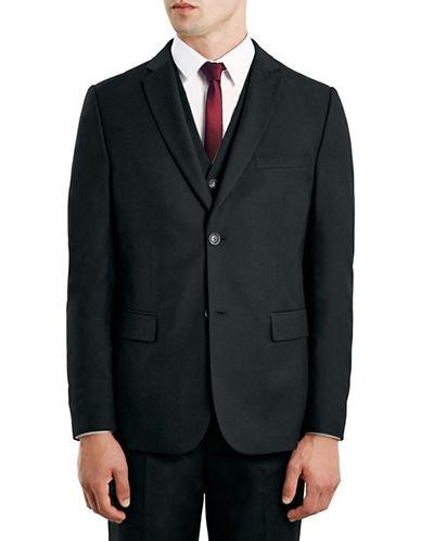 Topman New Fit Slim Sports Jacket-BLACK-46