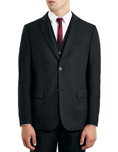 Topman New Fit Slim Sports Jacket-BLACK-42