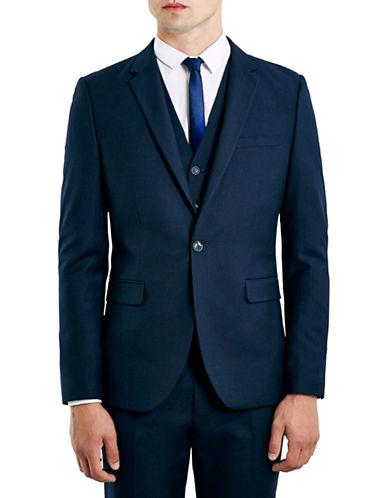Topman New Fit Skinny Suit Jacket-NAVY-48