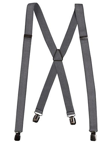 Topman Skinny Suspenders-GREY-One Size