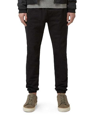Topman Woven Jogger Pants-BLACK-X-Large 88129680_BLACK_X-Large