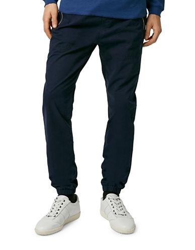 Topman Woven Skinny Jogging Pants-BLUE-Medium 88229530_BLUE_Medium