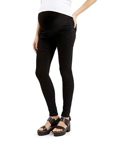 Topshop MATERNITY MOTO Joni Skinny Jeans 32 Inch Leg-BLACK-UK 12/US 8