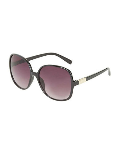 Topshop Pru Portugal Sunglasses-BLACK-One Size
