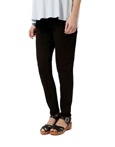 Topshop MATERNITY MOTO Jamie Skinny Jeans 32 Inch Leg-BLACK-UK 10/US 6