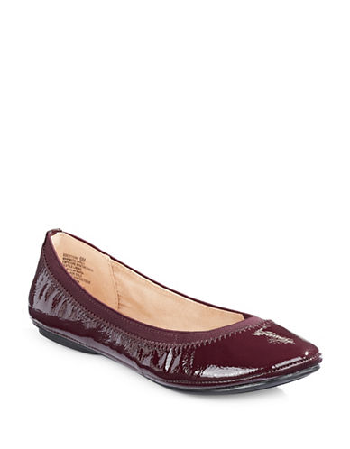 Bandolino Edition Ballet Flats-DARK WINE-6.5