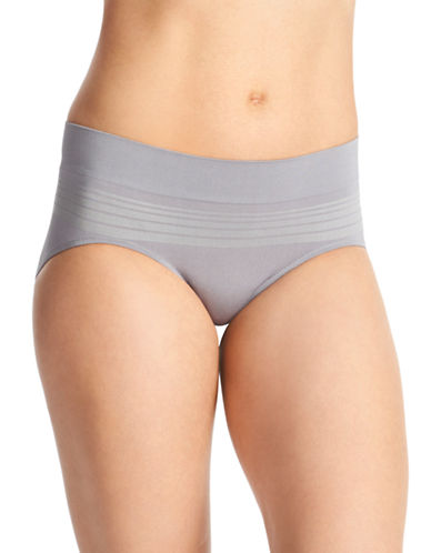 WarnerS Microfibre Hipster Briefs-GRAPHITE-X-Large