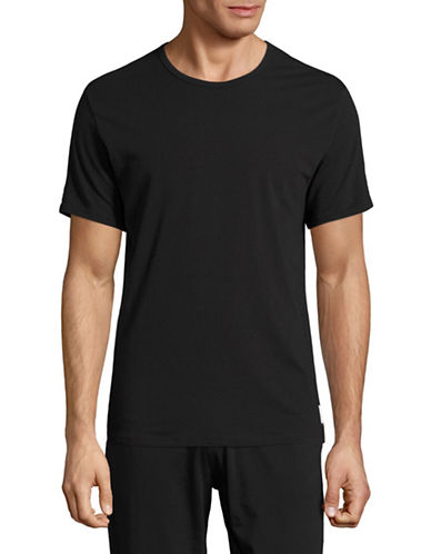 Calvin Klein ID Cotton Slim-Fit T-Shirt-BLACK-Large