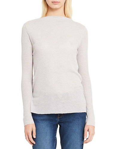 Calvin Klein Jeans Lightweight Sweater-SILVER-X-Large