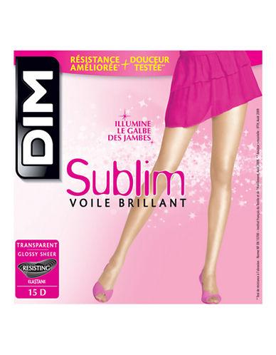 Dim Sublim Glossy Sheer Pantyhose 15D-BEIGE DOIR-4