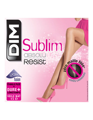 Dim Sublim Absolu Resist Pantyhose 15D-BLACK-2