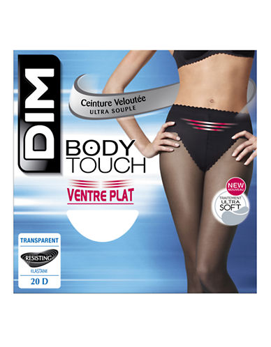 Dim Body Touch Control Top Pantyhose 20D-BLACK-1