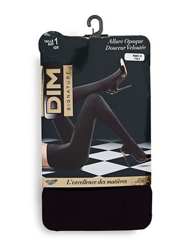 Dim Opaque Tights-BLACK-4