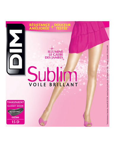 Dim Sublim Glossy Sheer Pantyhose 15D-GREY-1