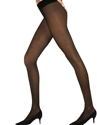 Dim Diams Satin Effect Pantyhose 45D-BLACK-2