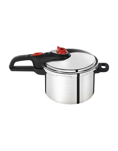 T-Fal Secure Pressure Cooker-STAINLESS STEEL-6 L